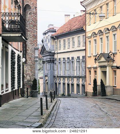 Vilnius Oldtown Street