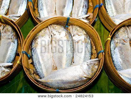 Fish markets of Bangkok, Thailand.