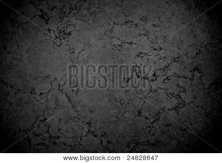 piedra de mármol negra