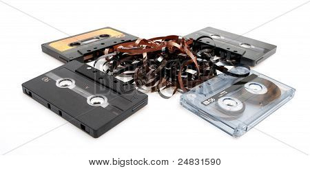 Retro Audio Cassette Tapes