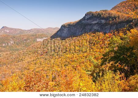 Rural Mountain Scene In North Carolina