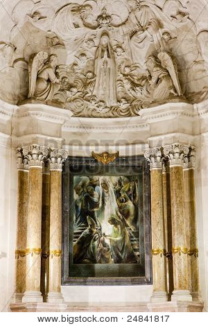 interior of Sanctuary of Our Lady of Fatima, Fatima, Estremadura, Portugal