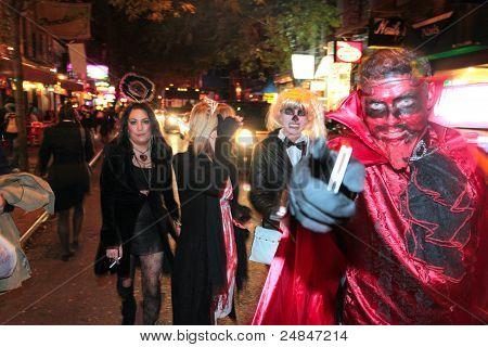 Halloween, Greenwich Village