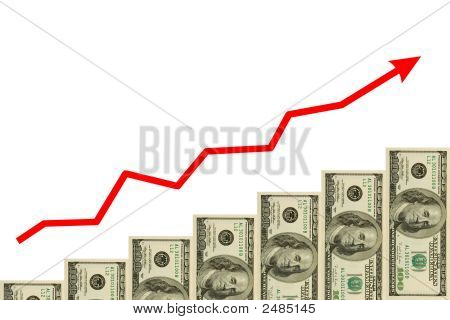 Arrow And Money Staircase