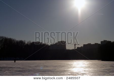 Winter Urban Landscape