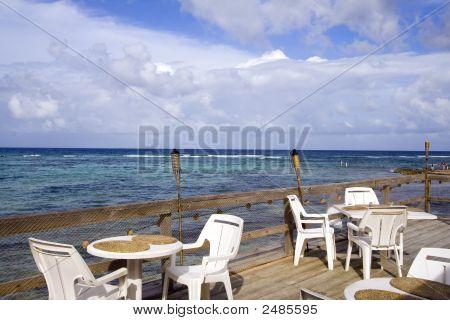 Caribbean Resort Cafe Patio