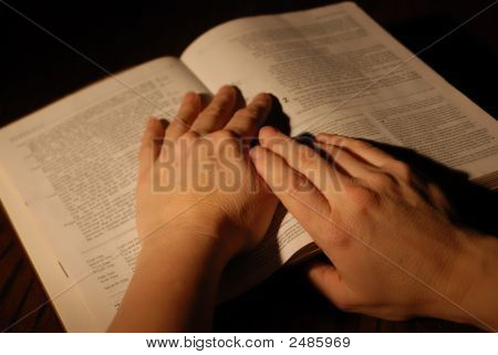 Book With Hands