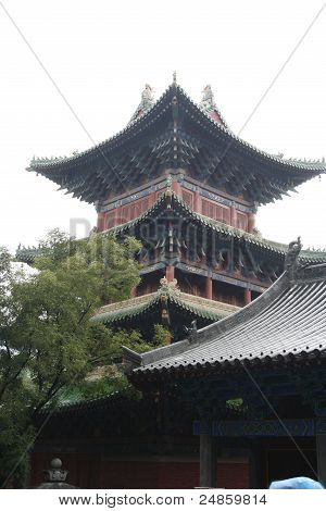 Chinese Building Within The Shaolin Temple, China