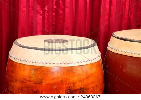 Drums - One Of Traditional Thai Musical Instruments