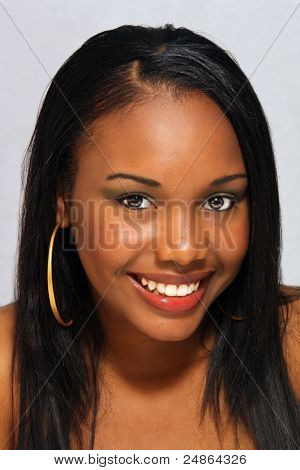 Beautiful Haitian Girl, Headshot (1)