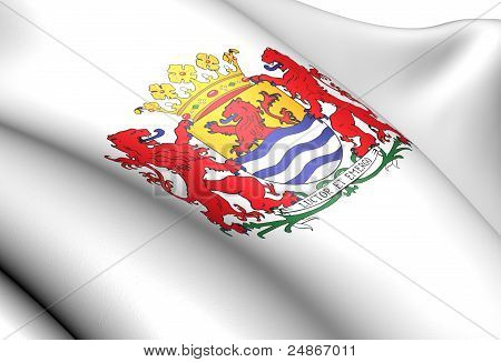Zeeland Coat Of Arms, Netherlands.