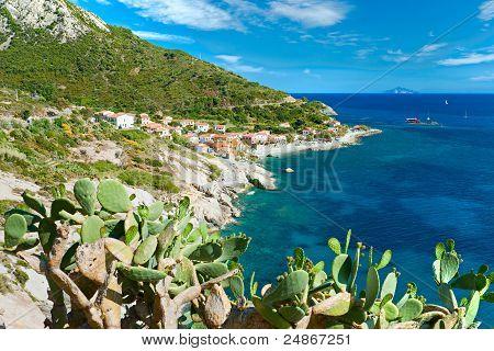 Chiessi, Elba Island. Italy.