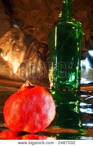 Bottle, Drink, Alcohol, Wine, Color, Red, Cabernet, Sauvignon, Glass