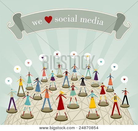 We Love Social Media Network
