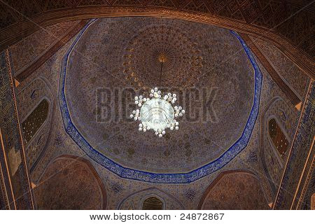 Ceiling Of Guri Amir