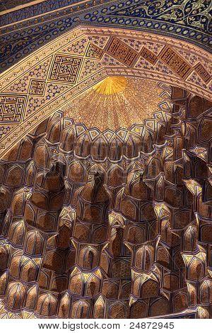 Golden Dome Of Guri Amir