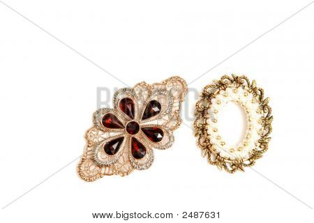 Two Brooch.