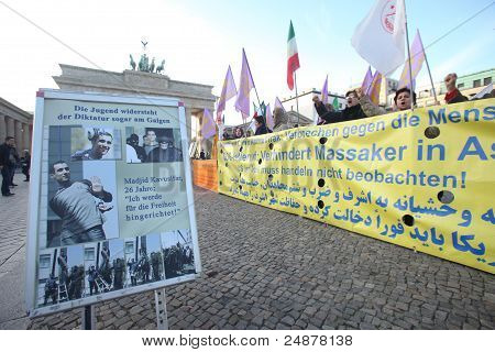 Protesters In Berlin