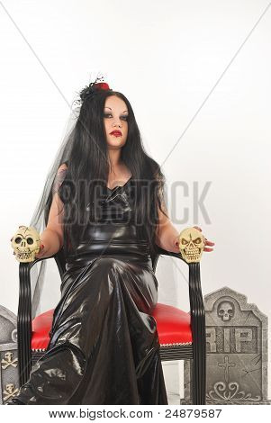Bride Of Satan Sitting