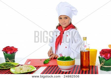 Little Chef in Uniform.