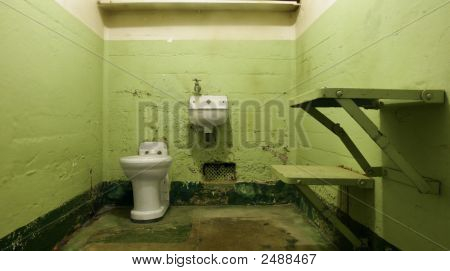 Empty Jail Cell