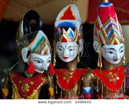 Indonesia, Java: Traditional Puppet