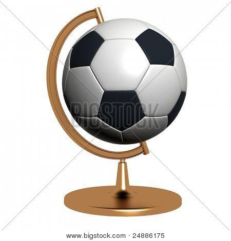 Globus Fußball Zeichen