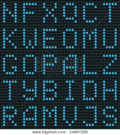 Seamless Alphabet Background