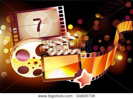 Abstract Cinema Background