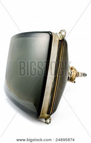 Old Television Cathode Tube