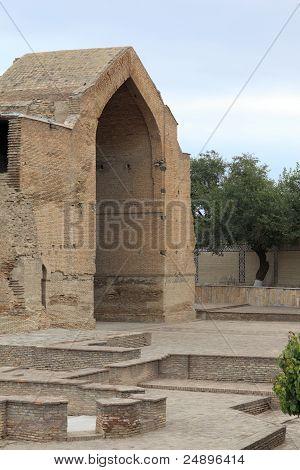 Brick Arch Of Guri Amir