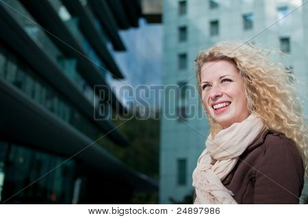 Business Woman Outdoor Portrait