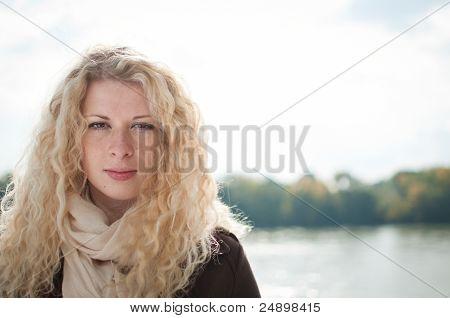 Outdoors Woman Portrait