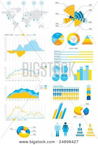 Detail Info-graphic Vector Illustration