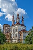 Church Of The Resurrection Of Christ In Varnitsy, Totma, Russia poster