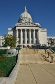 Capitol Building In Madison, Wisconsin