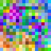 Colorful Large Pixels Abstract Pattern Background