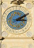 Medieval Clock poster