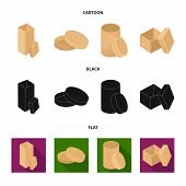 Box, Container, Package, And Other  Icon In Cartoon, Black, Flat Style.case, Shell Framework Icons I poster
