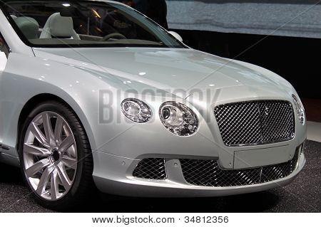 Silver convertible