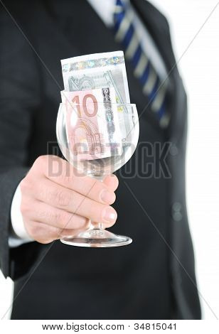 Money In The Glass