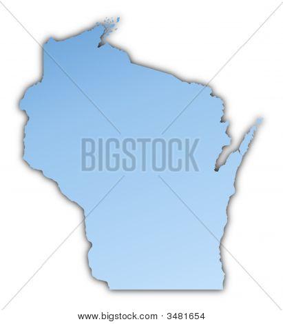 Wisconsin(Usa) Map