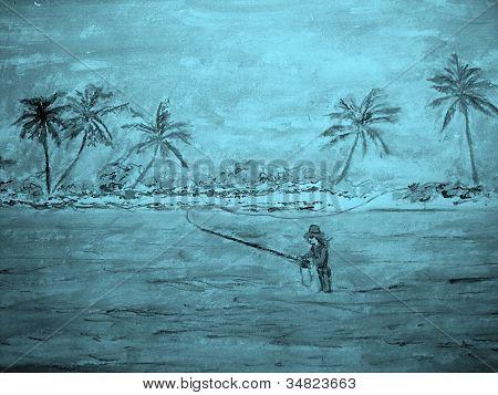 Mosca pesca chica
