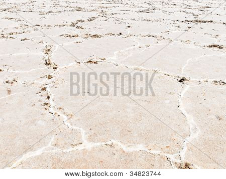 Close-up Of Salt Flats