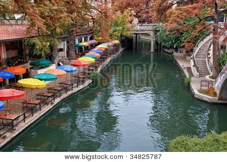 River Walk in San Antonio Texas