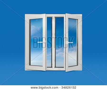 Open Pvc Windows