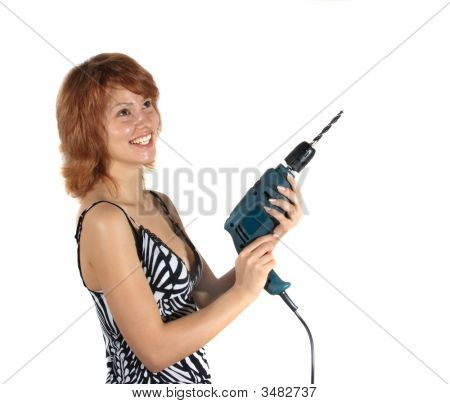 The Girl With A Drill