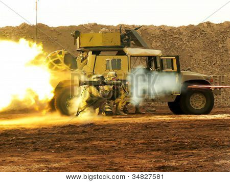 firing the weapon