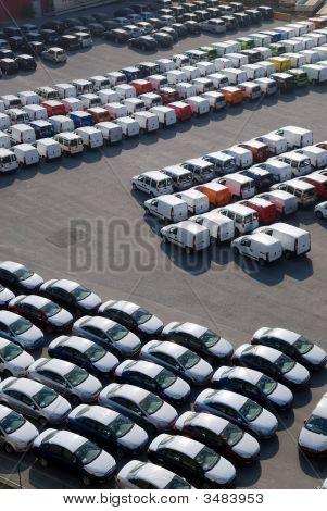 Field Of Cars