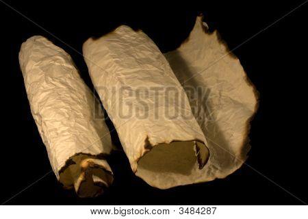 Ancient Paper Scrolls